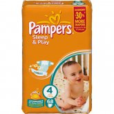 Подгузники Pampers (Памперс) Sleep Play Maxi