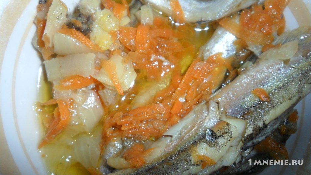 Килька тушеная с овощами рецепт