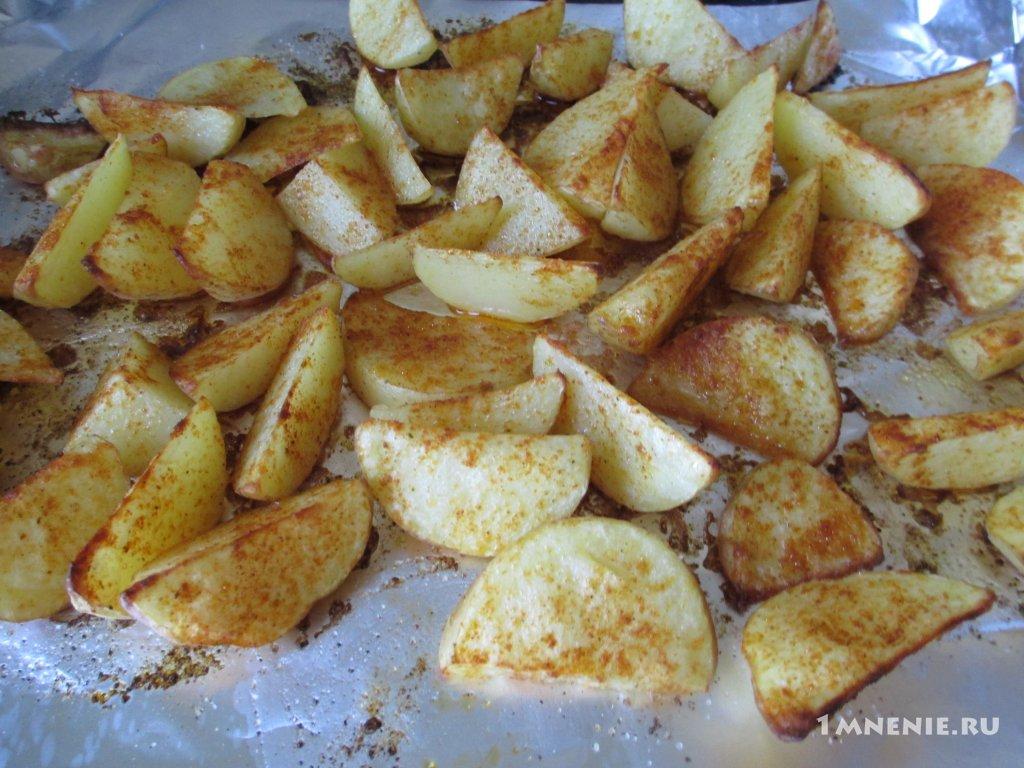 картофель по деревенски как в макдональдсе рецепт