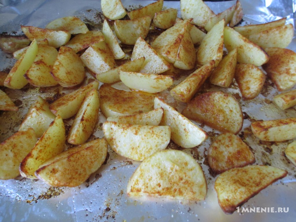 рецепт картошки по деревенски как в макдональдсе с фото