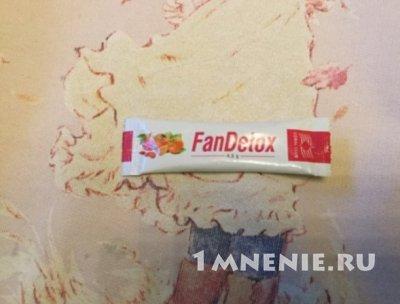 Fandetox отзывы
